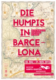 Plakat Humpis in Barcelona